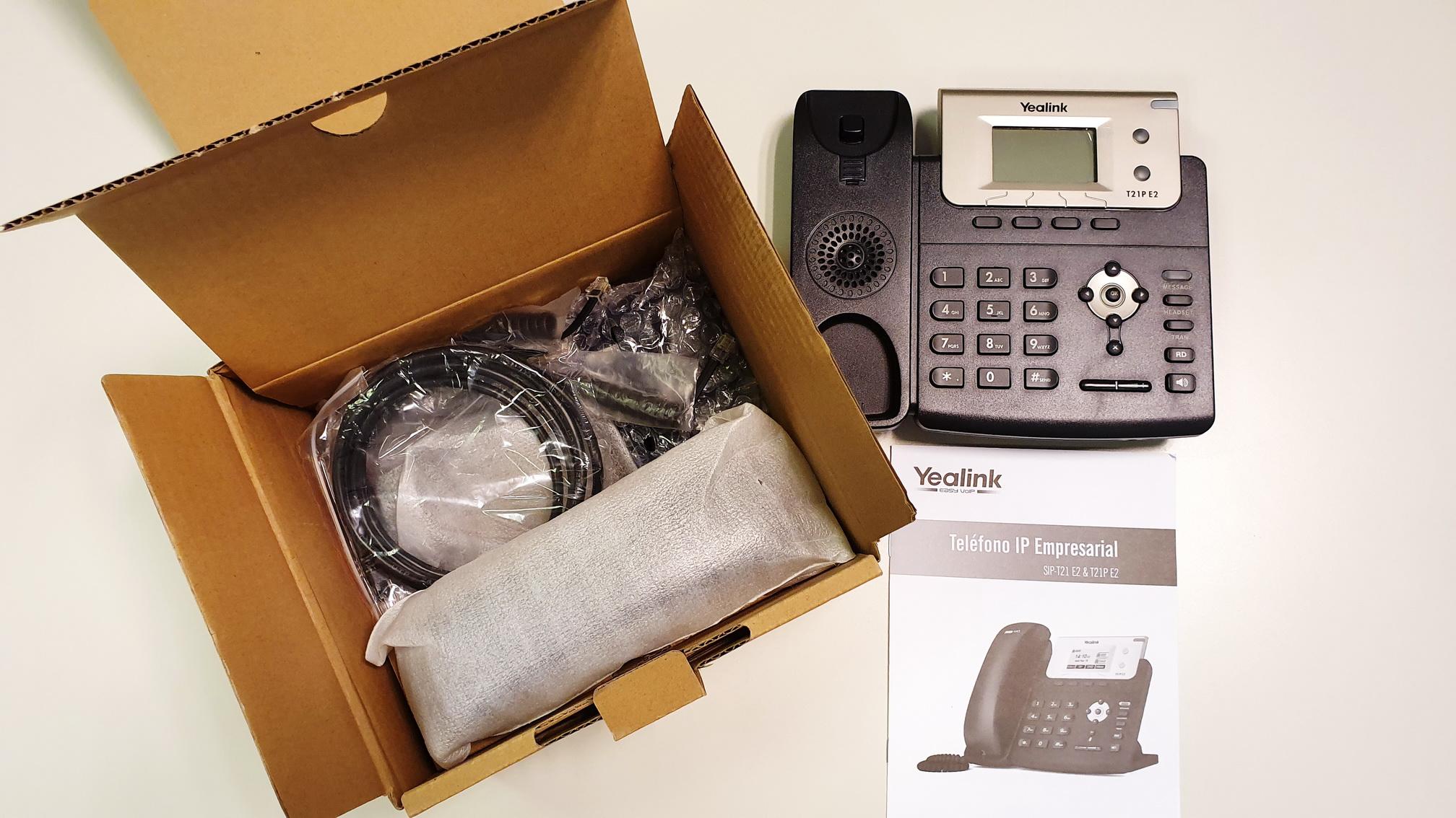 Teléfono Cisco T21PE2